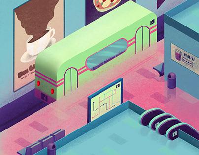 Metro - Animation