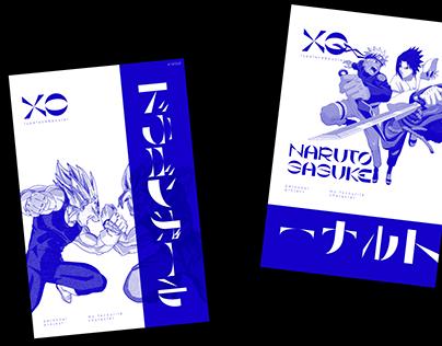 XO typeface & poster