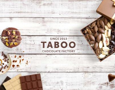 Taboo - Chocolate factory | Design Logo & Branding