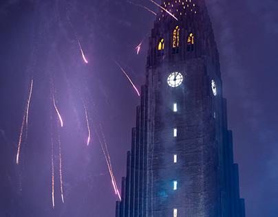New Years in Reykavík