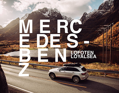 With Mercedes-Benz at the Lofoten