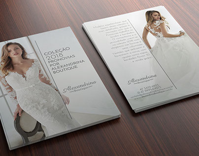 2018 Campaign - New Bride Collection by Alexandrina