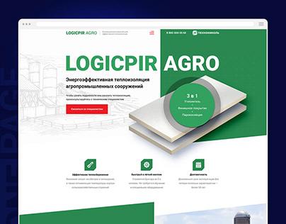 Теплоизоляционные плиты Технониколь LOGICPIR AGRO