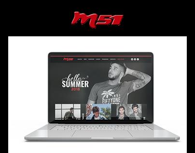 M51 Web Design