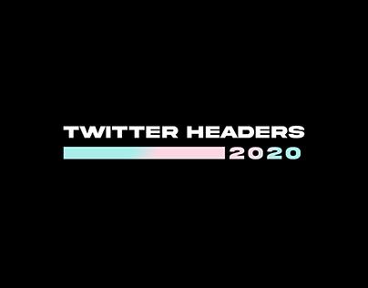 TWITTER HEADERS 2020