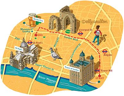 Timeout London Walk Maps