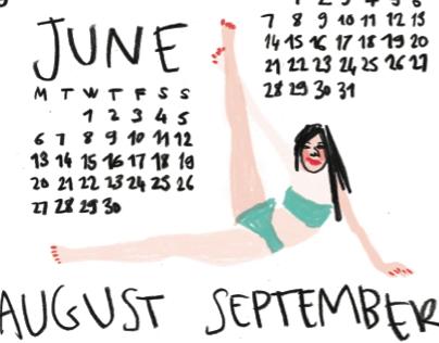 Sexy sexy Calendar 2016
