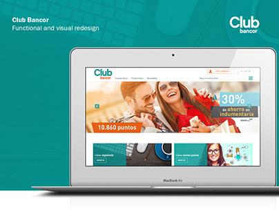 Club Bancor - website
