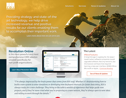 ROI Solutions Website