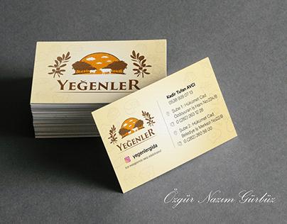 Yeğenler Gıda Bussines Card