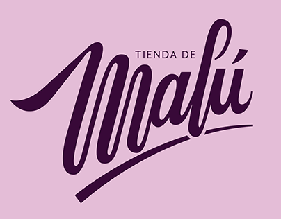 LOGO / TIENDA DE MALÚ
