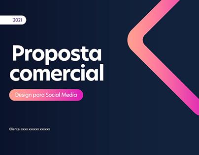 Proposta Comercial - Design for Social Media