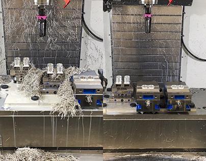 3 axis CNC Machining