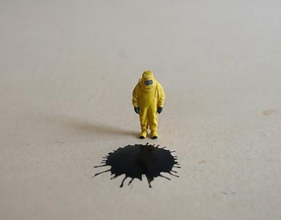 The Man in Yellow Hazmat Suit