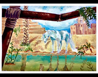 رؤية سينيمائية لرواية الفيل الأزرق-أحمد مراد.