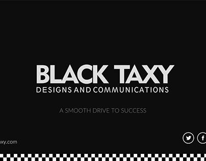 Black Taxy Presentation