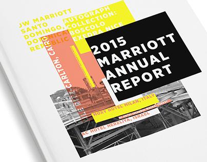 2015 Marriott Annual Report