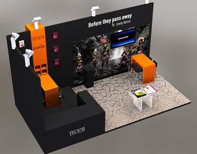 3D Stall mockups