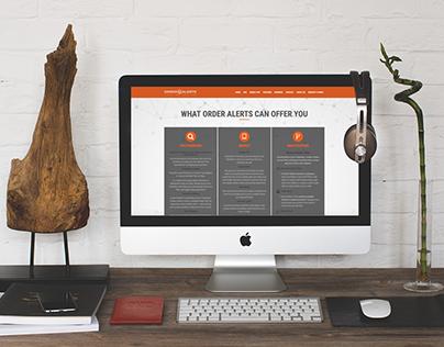 Prospay - Order Alerts web design