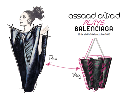 Assaad Awad Plays Balenciaga
