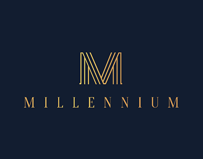 Millennium - Residence Brand Identity