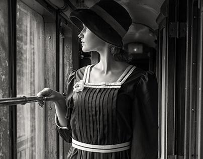 'Night train', a dreamy stroll