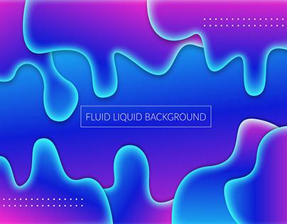 Fluid Liquid Background