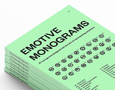 Emotive monograms