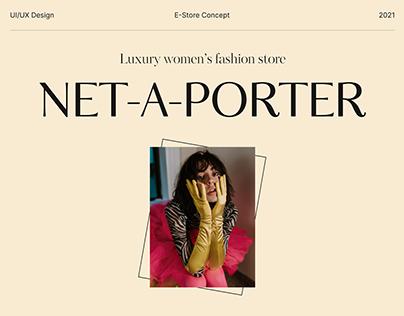 Net-A-Porter — Website Redesign