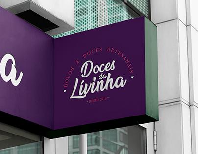 Doces da Lívinha - Visual Identity