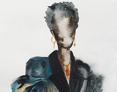 Fashion silhouette 2020
