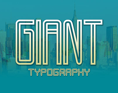 Typography Giant. Download it for free