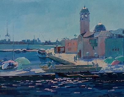 Sketch. Port. 70х100