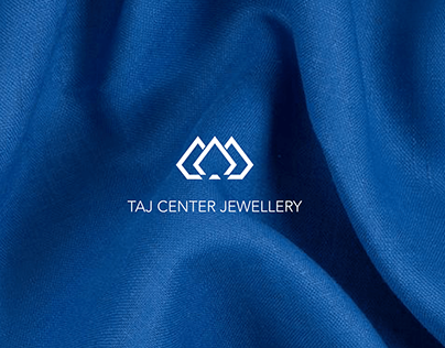 Taj Center Jewellery Brand Identity