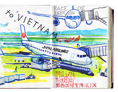 Sketch | travel at VIETNAM