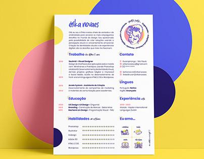 CV | Erika Novaes