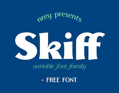 Skiff variable font family