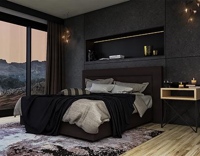 Bedroom interior design - LOFT