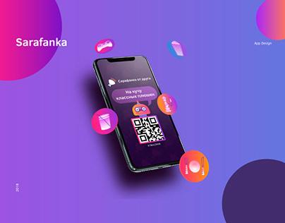 Sarafanka App Design