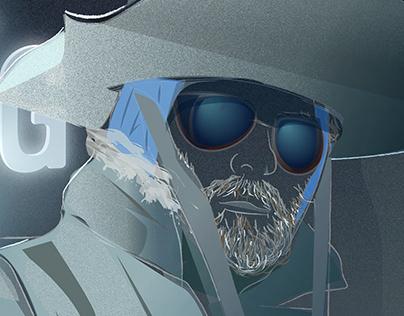 John Carpenter's The Thing Poster Design