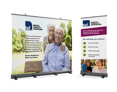 TSF Consultants - Roll-Up Design
