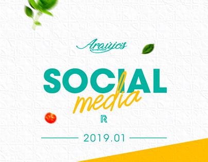 Social Media 2019.01 | Araújos - Bar e Restaurante