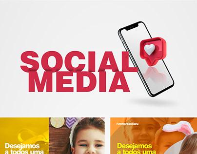 Social Média - Páscoa