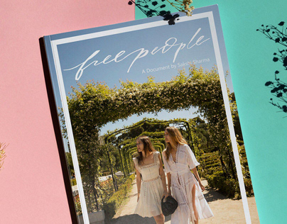 Catalogue Design SS 19- Free People