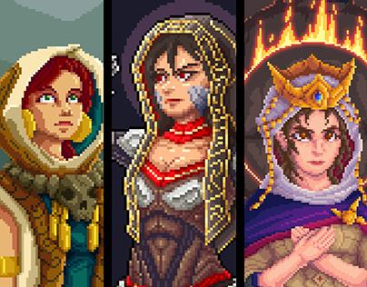 Pixel Priestesses