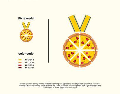pizza medal logo