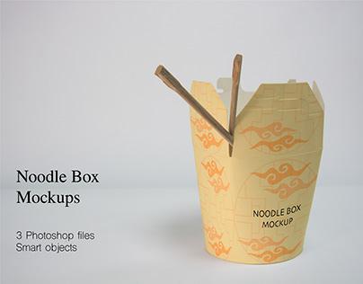 Noodle Box Mockups