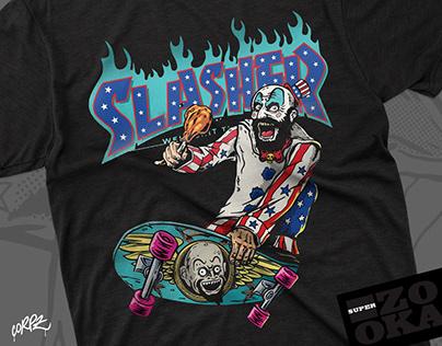 Captain Spaulding SLASHER Tshirt