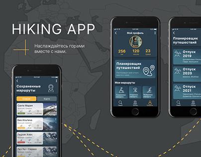 Travel App UX/UI Design