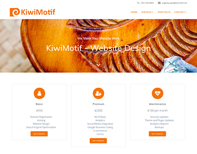 KiwiMotif Website